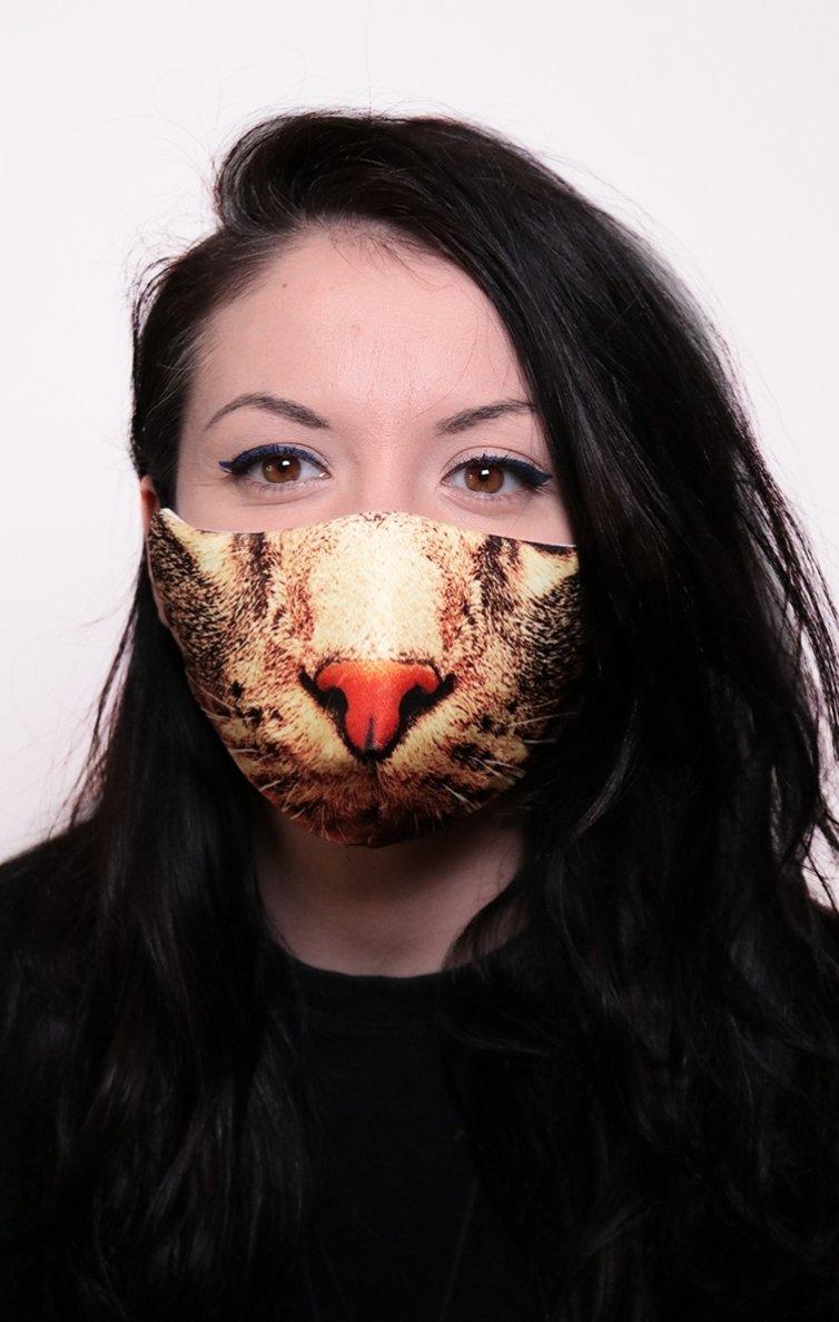 Mască Full Print Feline