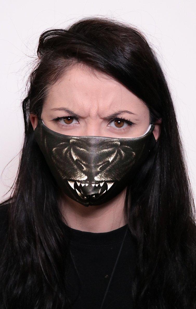 Mască Full Print Gorilla