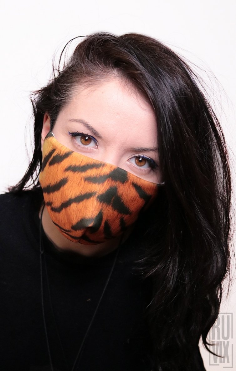 Mască Full Print Tiger