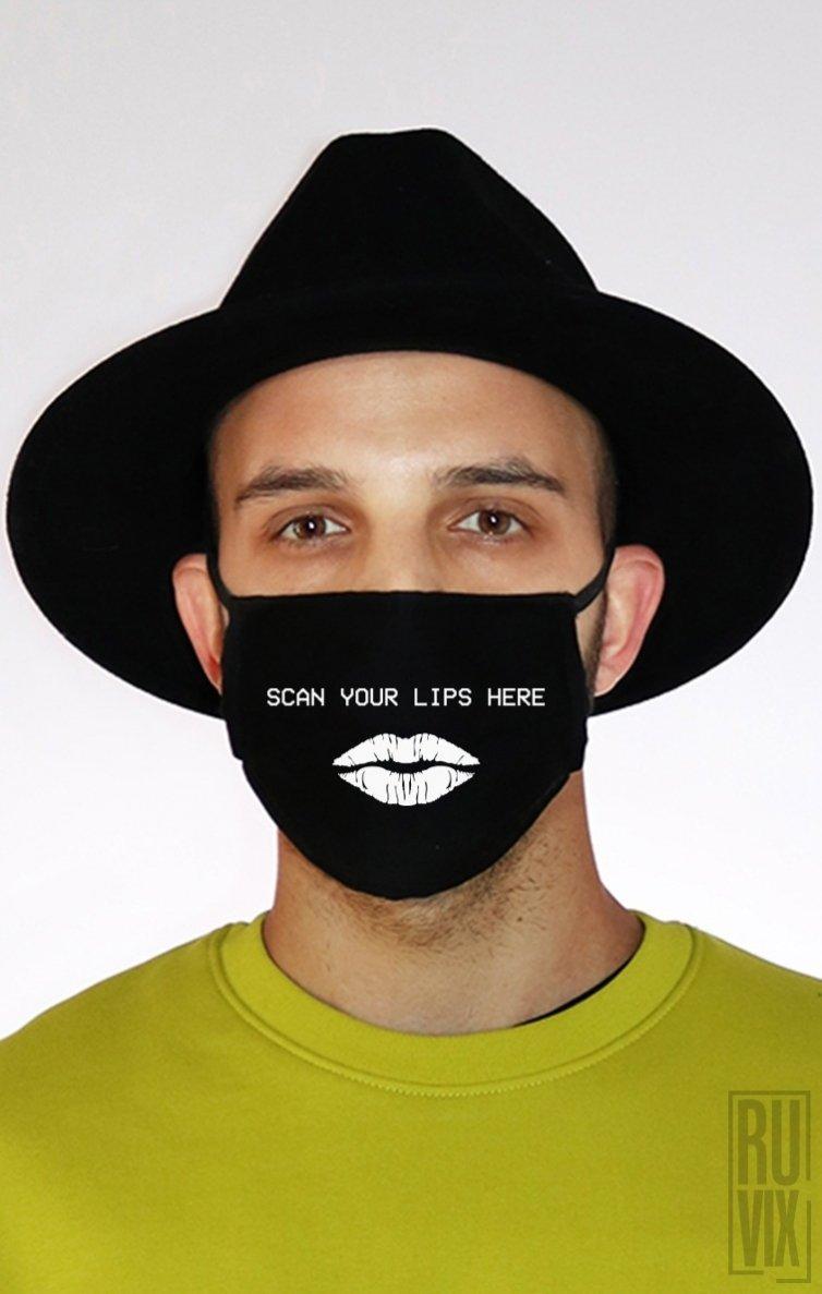 Mască Scan Your Lips