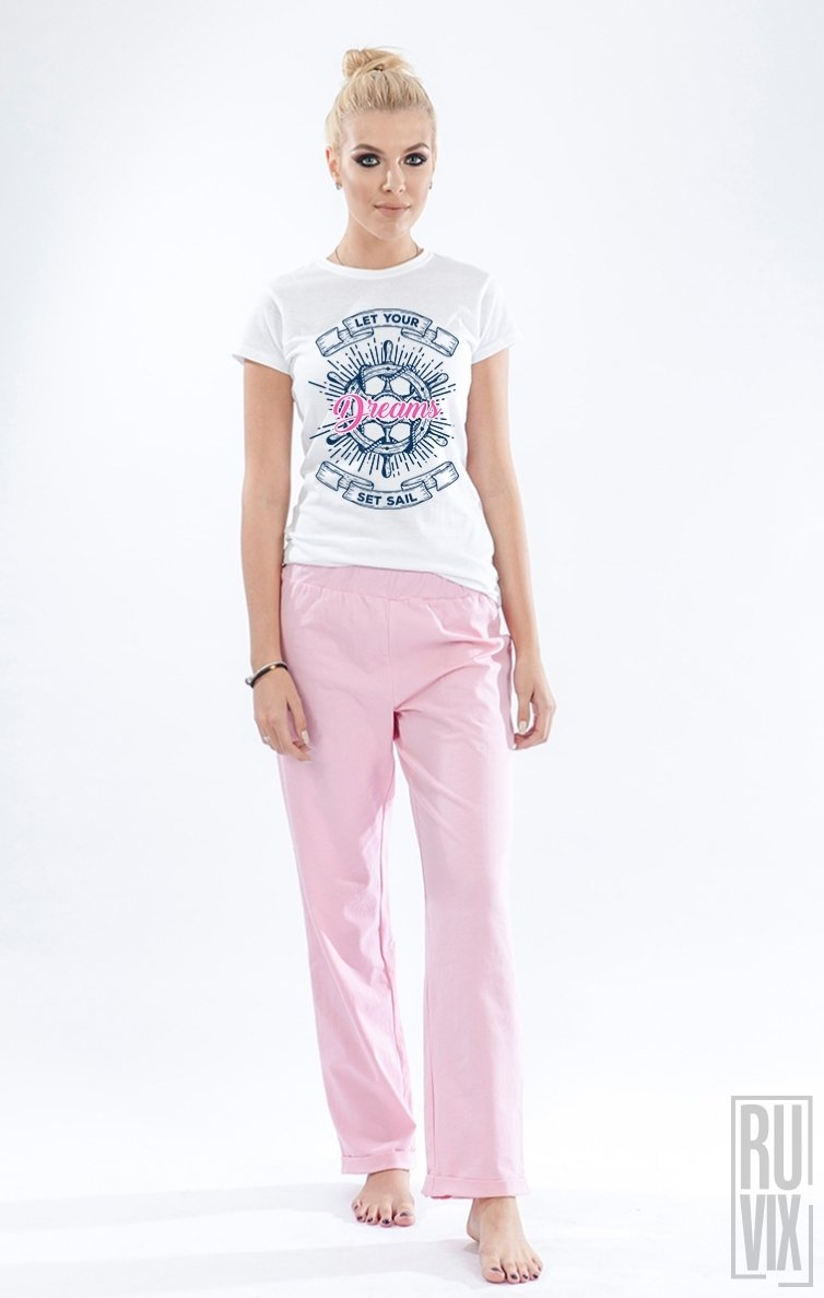 Pijama Dreams Set Sail (PINK)