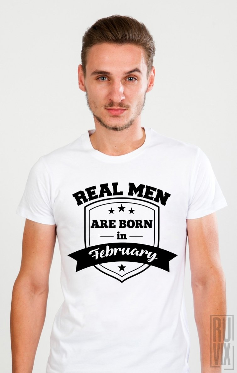 Tricou Real Men February
