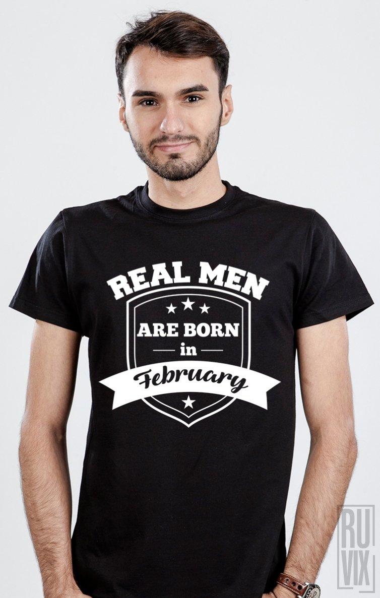 Tricou Real Men February