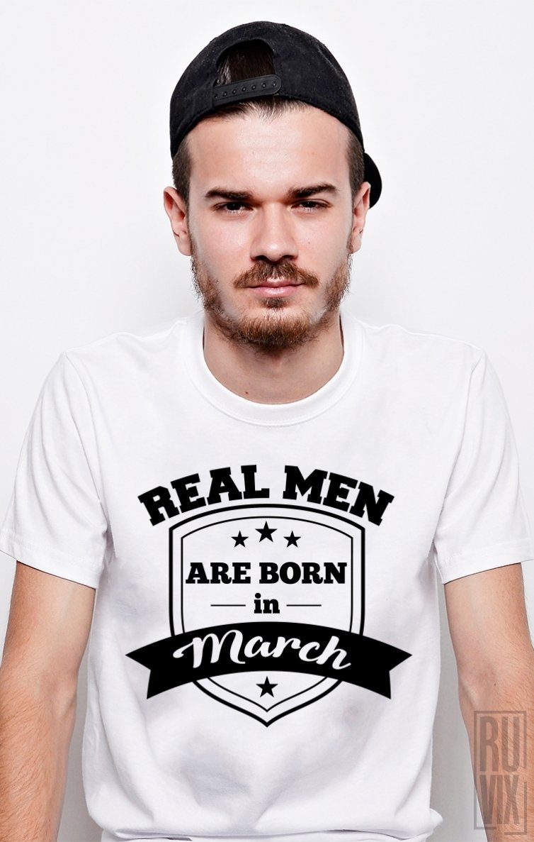 Tricou Real Men March