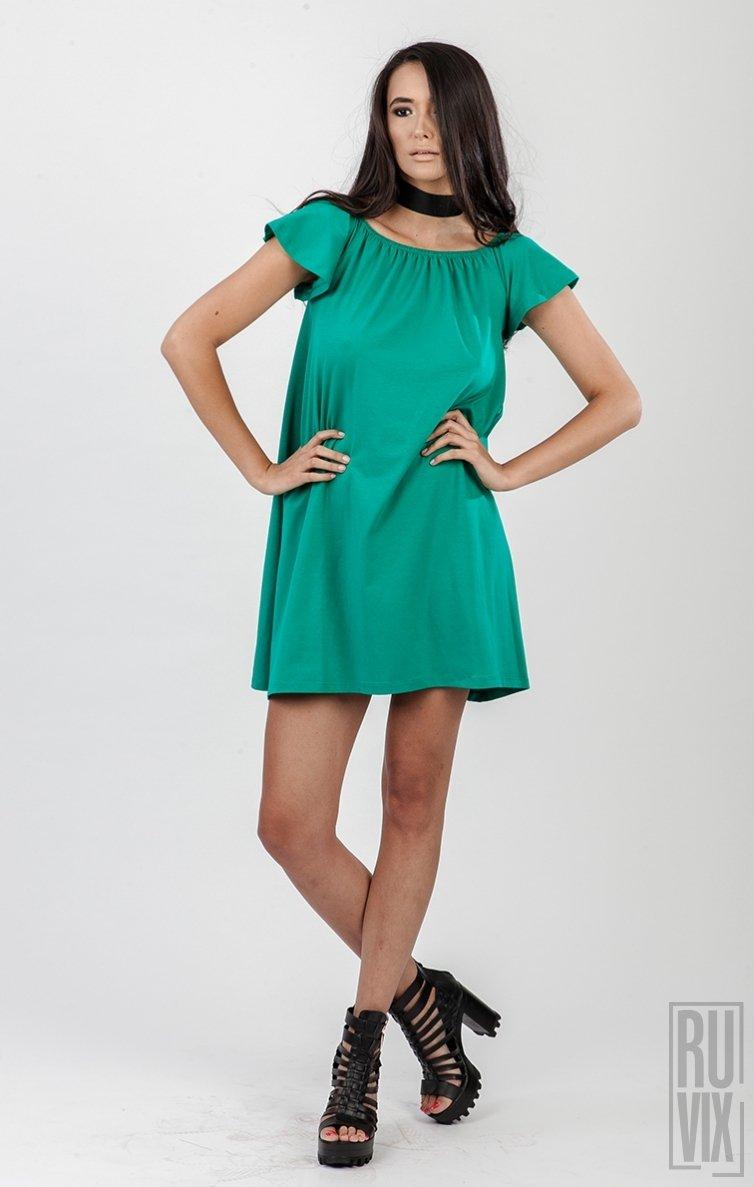 Rochie JASMIN Emerald Green