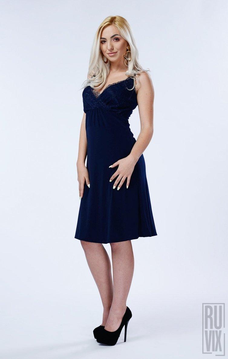 Rochie Vanessa Navy Blue
