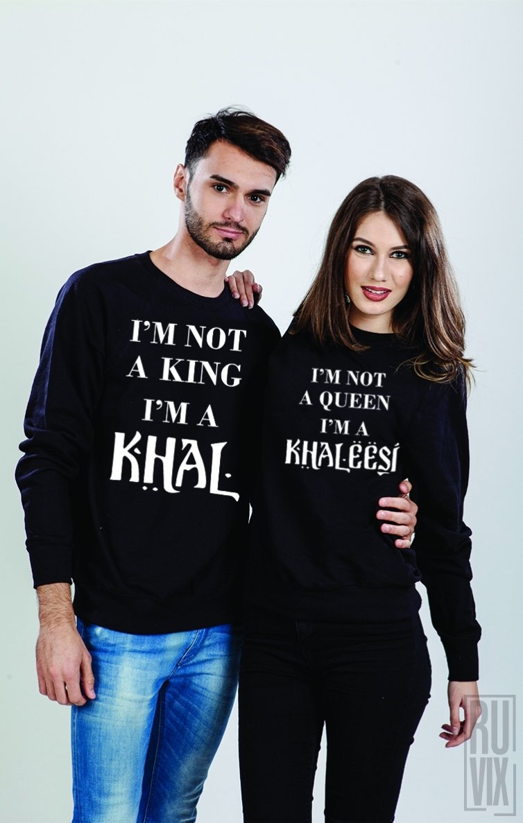 Set Sweatshirt Khaleesi and Khal