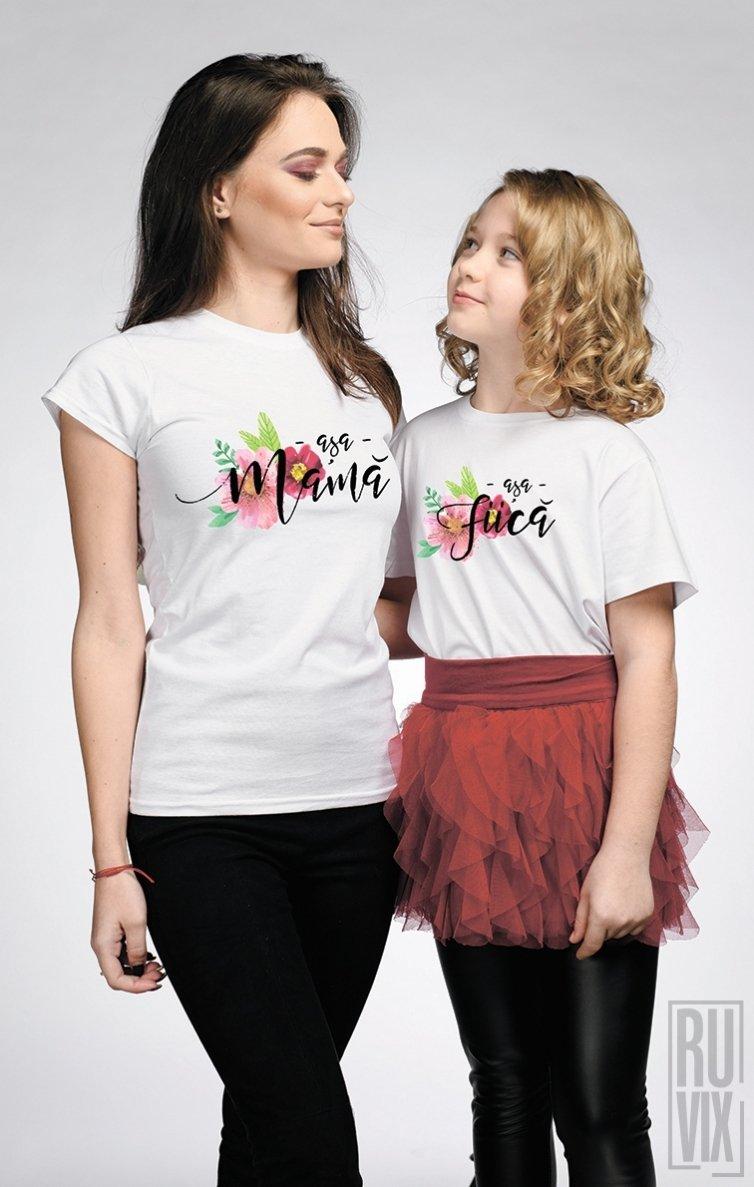 SET Tricouri Familie Așa Mamă - Așa Fiică