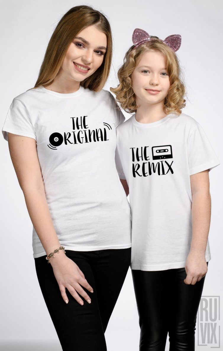 SET Tricouri Familie Original & Remix