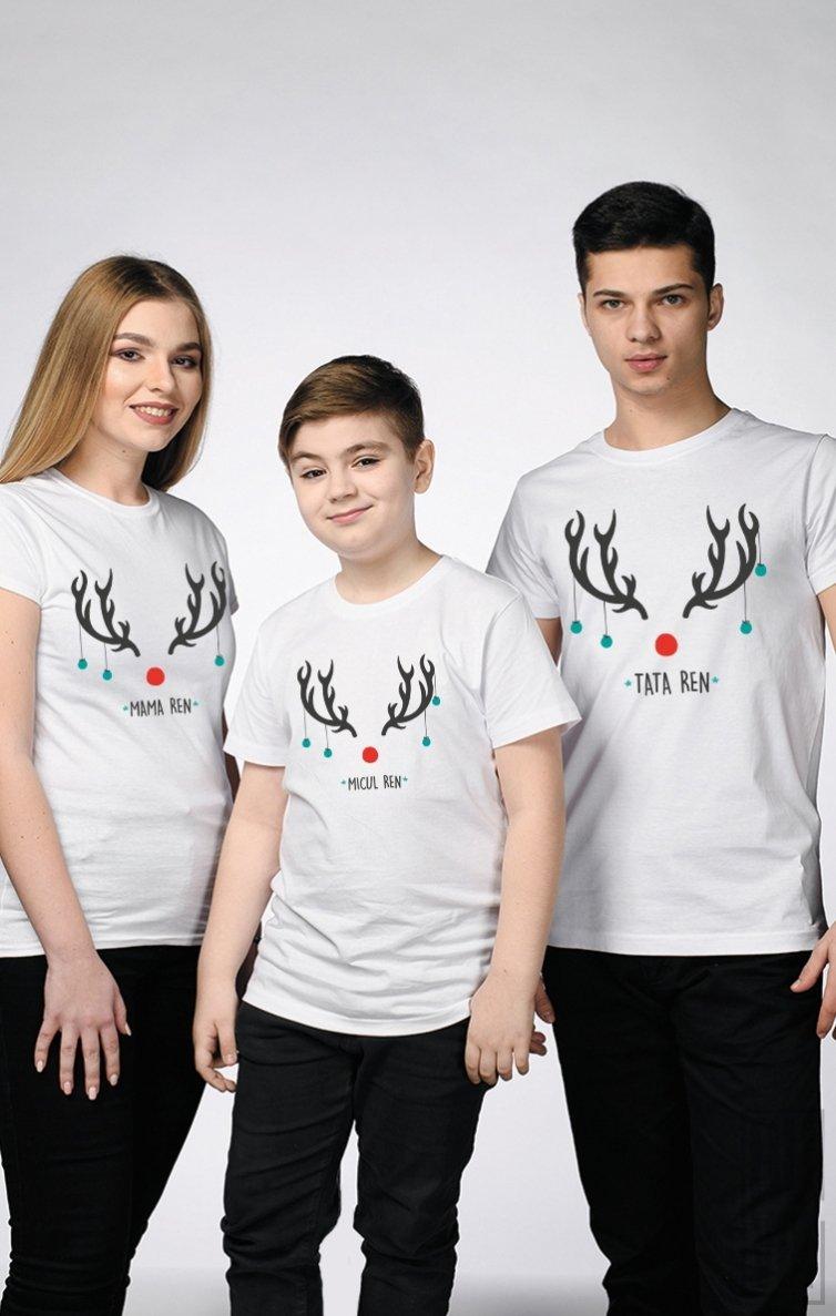 SET Tricouri Familie RENI
