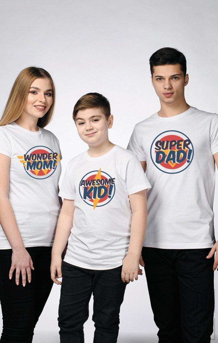 SET Tricouri Familie SUPER EROI