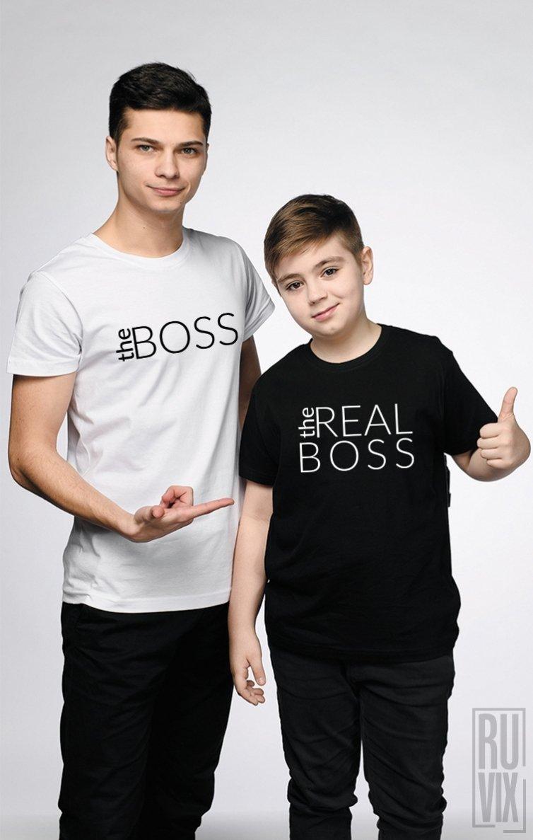 SET Tricouri Familie The Boss