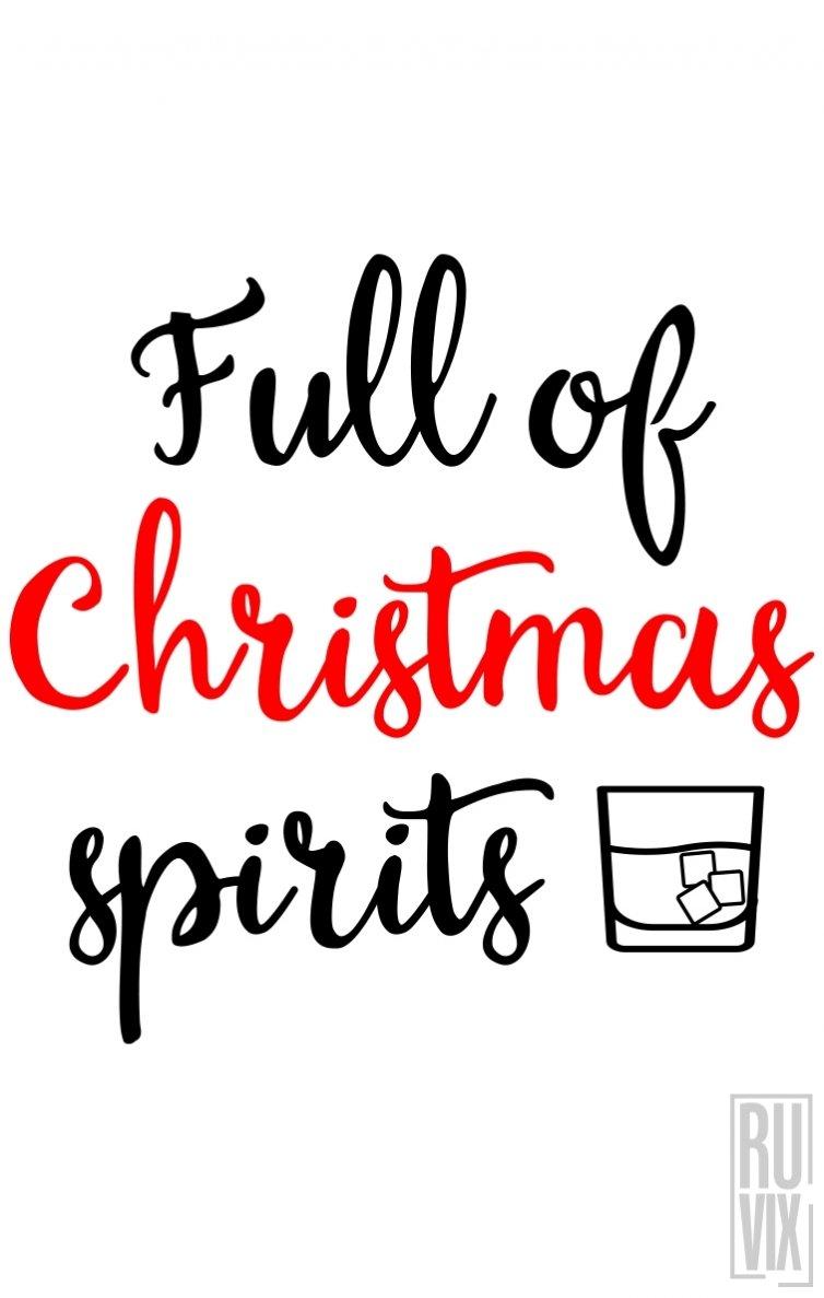 Sweatshirt Christmas Spirits