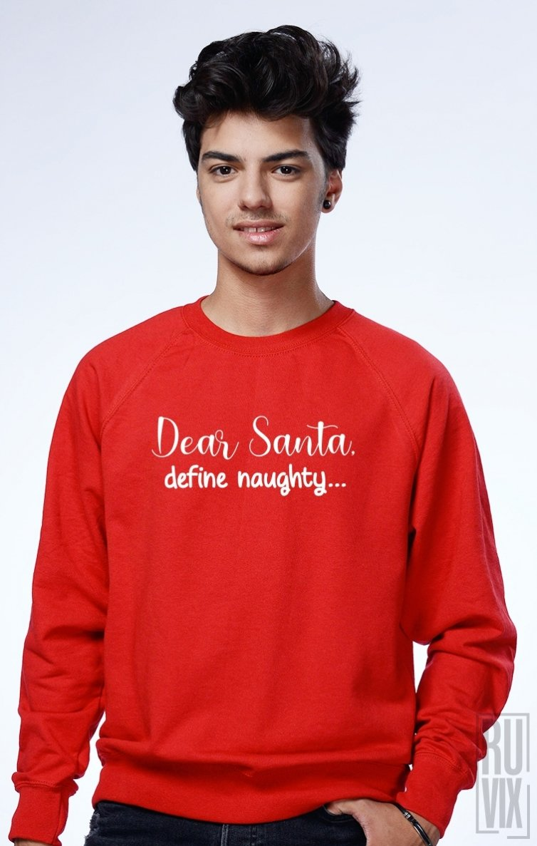 Sweatshirt Define Naughty