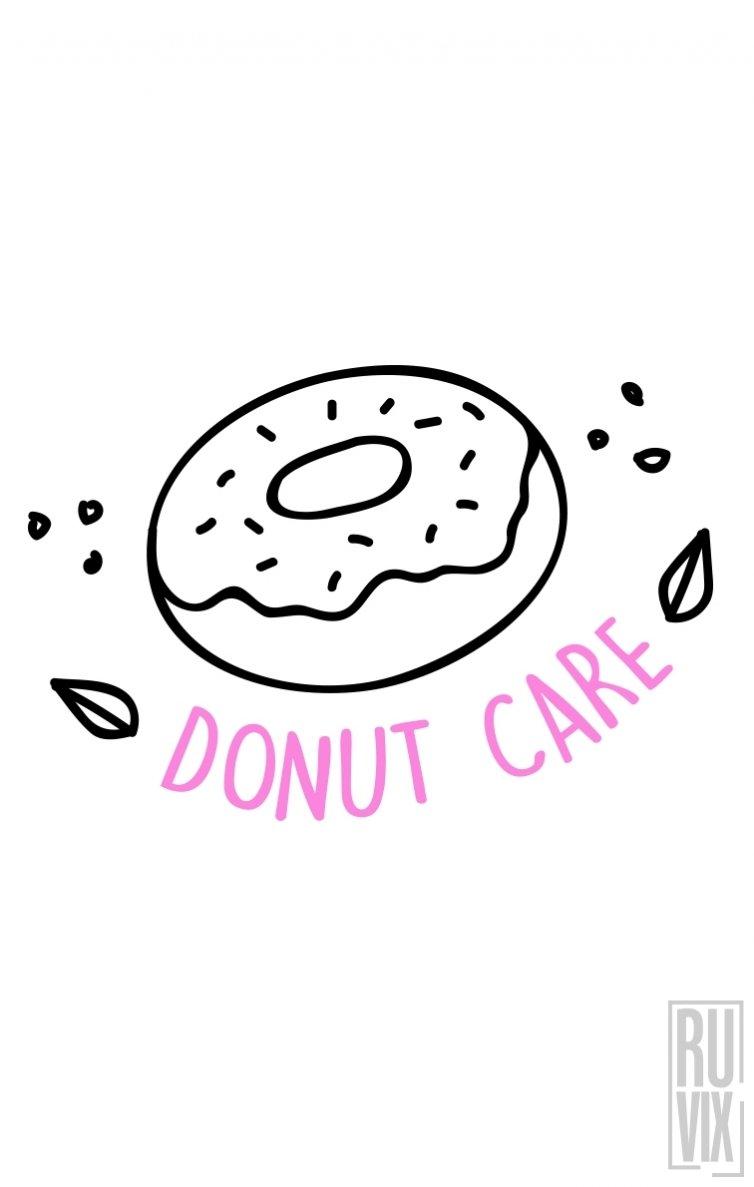 Sweatshirt Donut Care