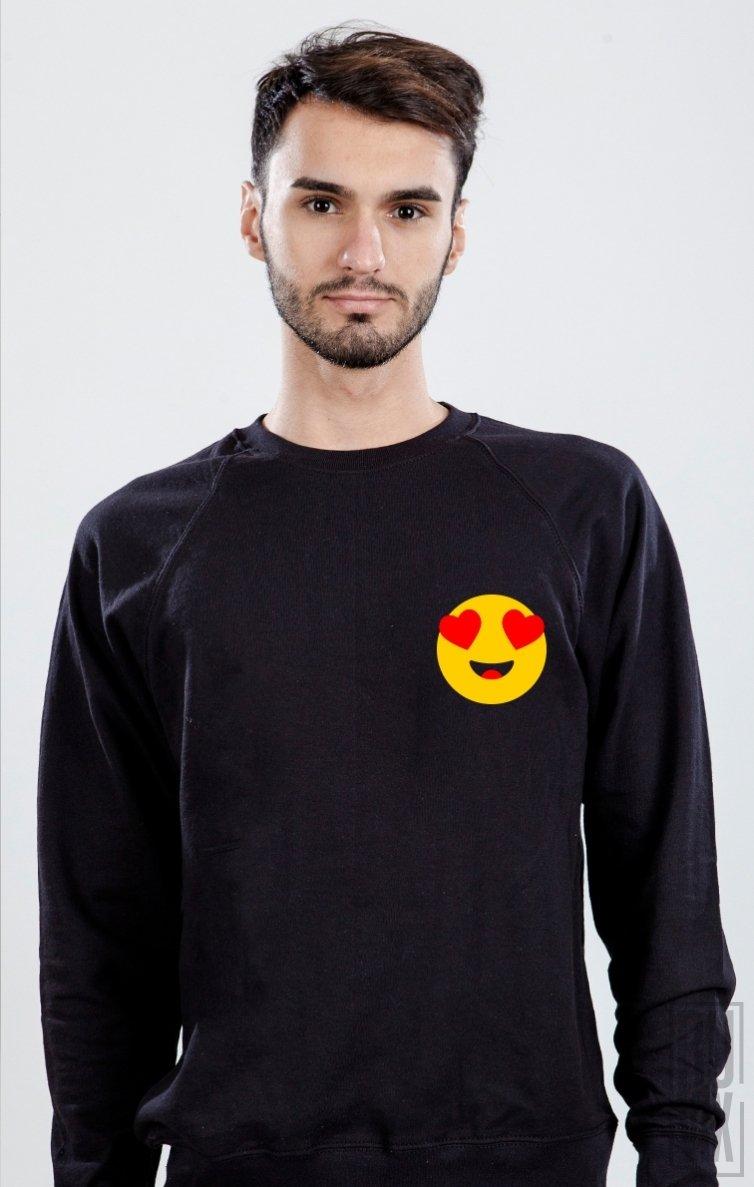 Sweatshirt Emoticon Inimă