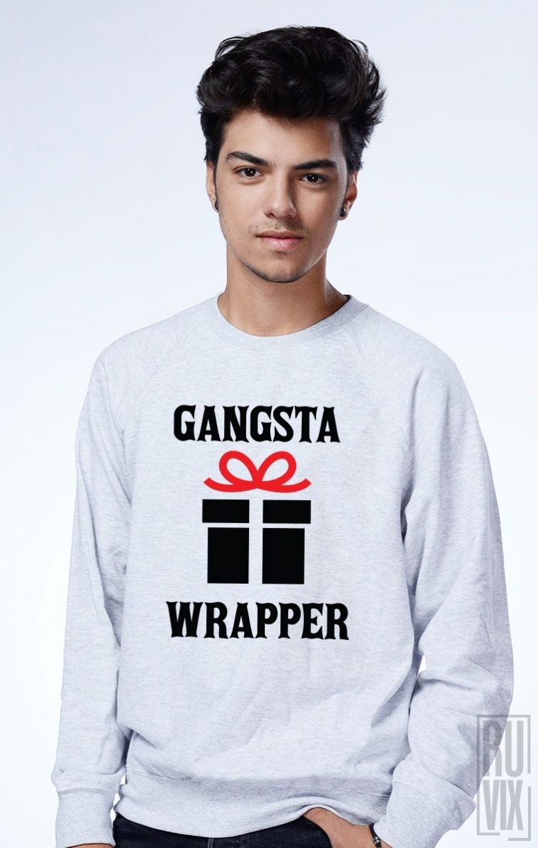 Sweatshirt Gangsta Wrapper