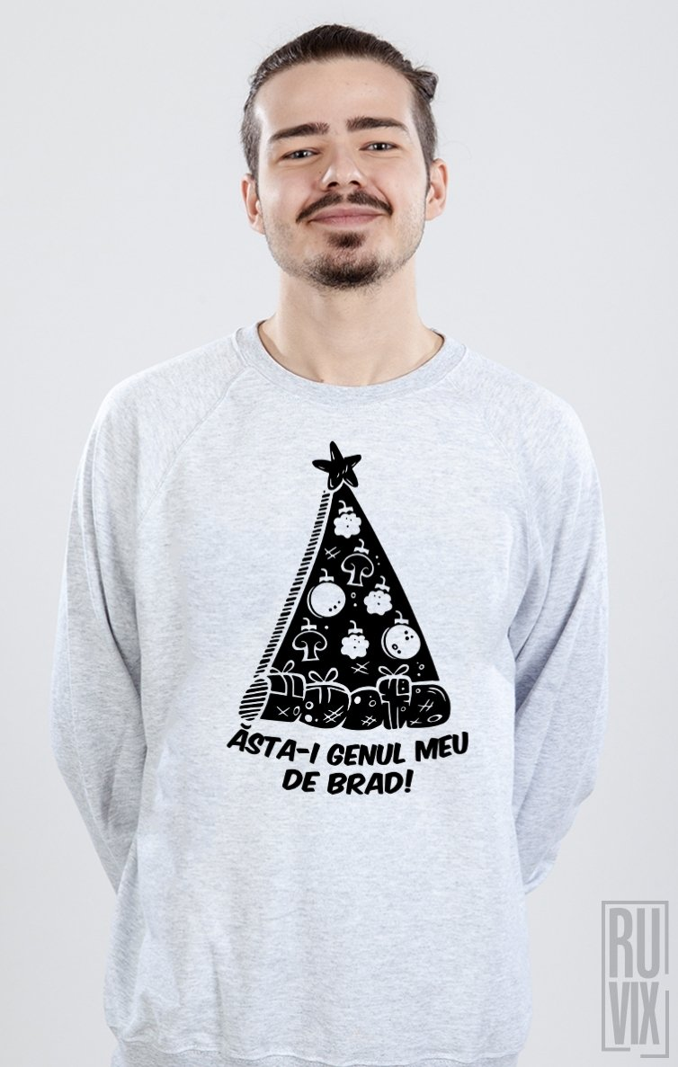 Sweatshirt Genul meu de brad