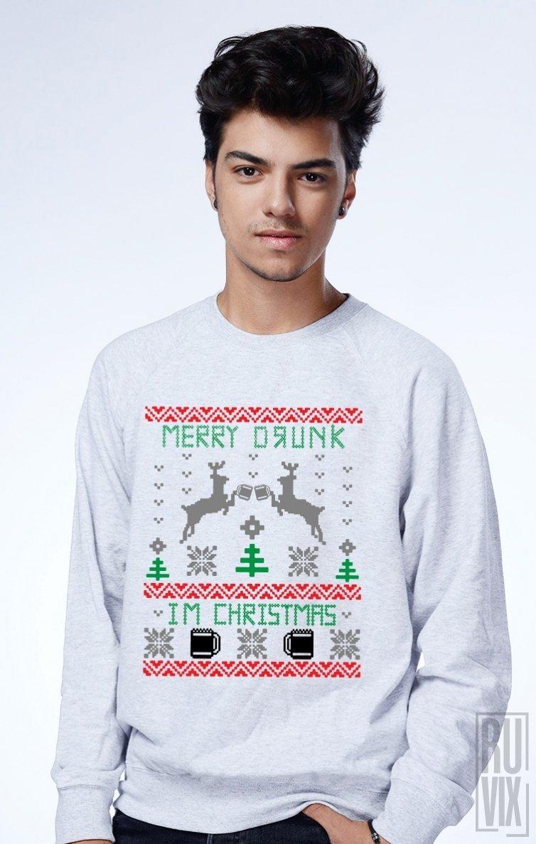 Sweatshirt Merry Drunk