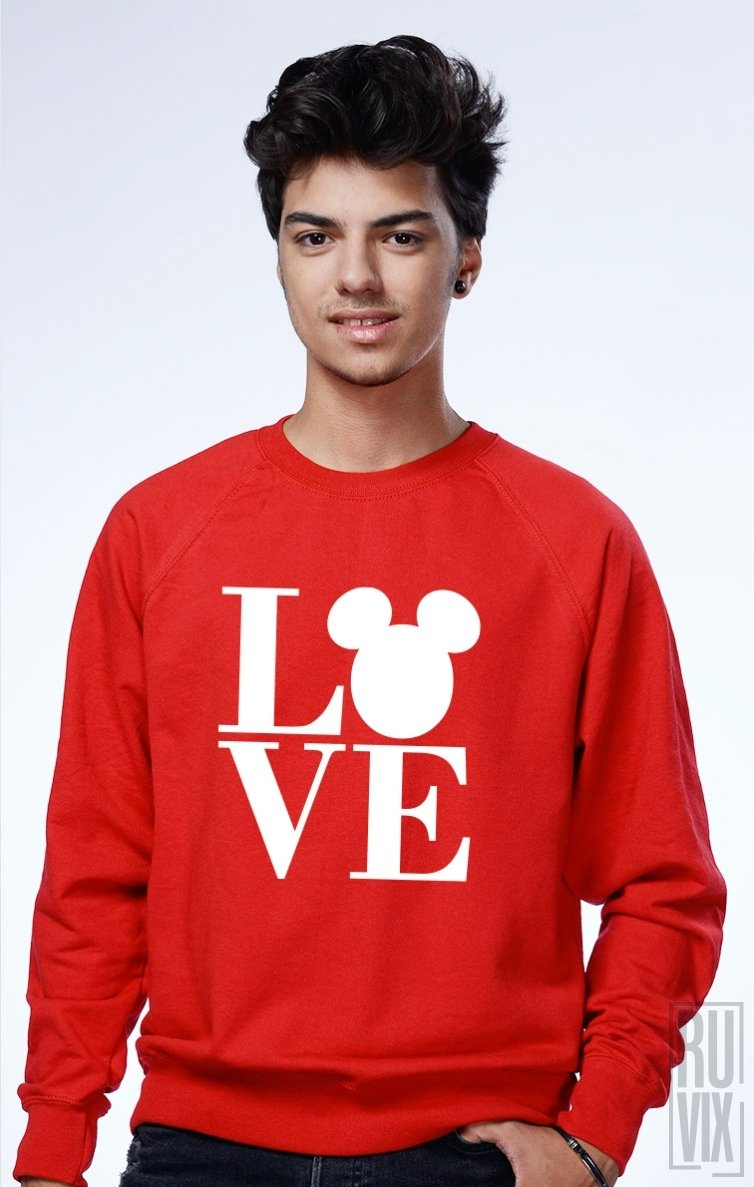 Sweatshirt Mickey Love