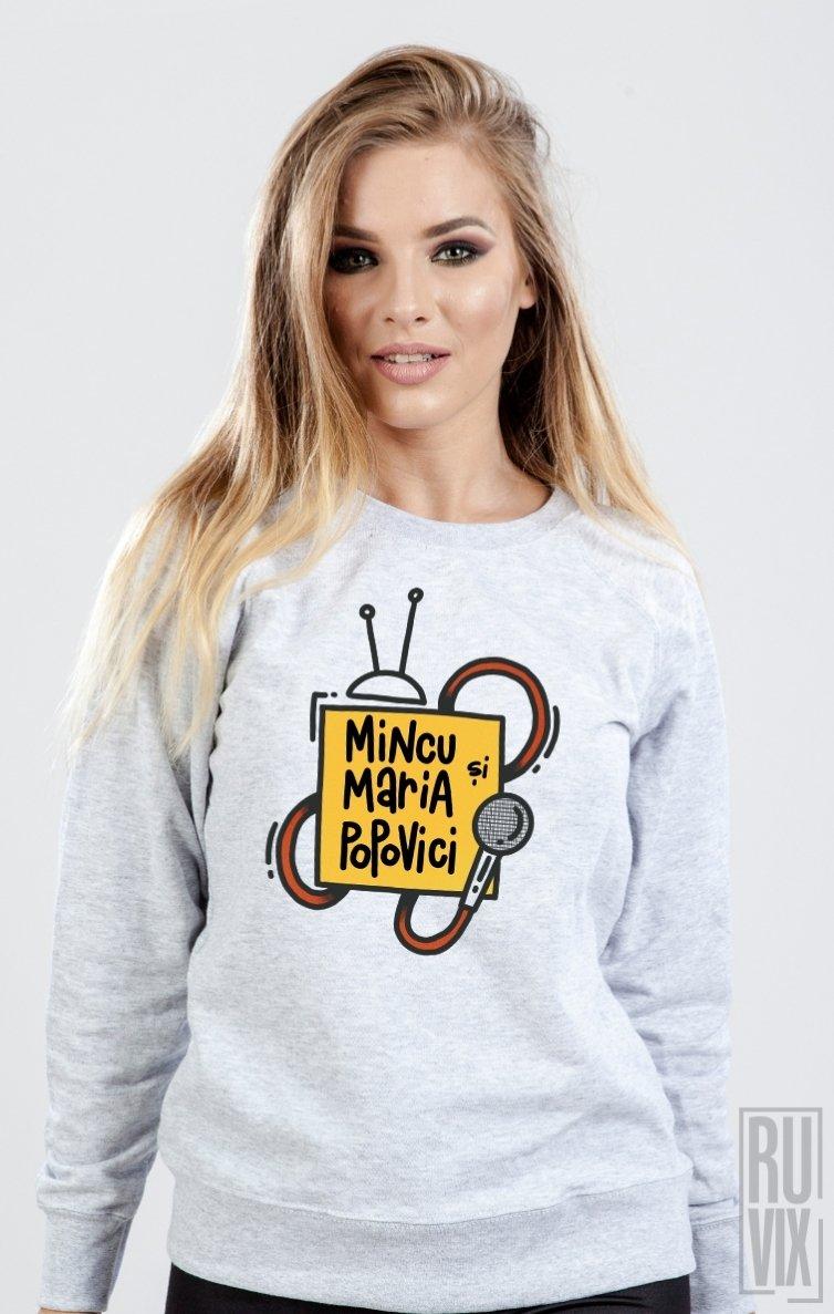 Sweatshirt Mincu și Maria
