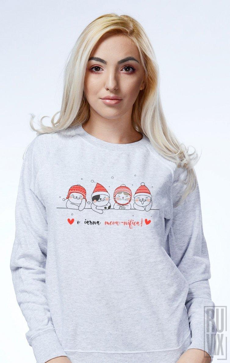 Sweatshirt O Iarnă Meow-nifică