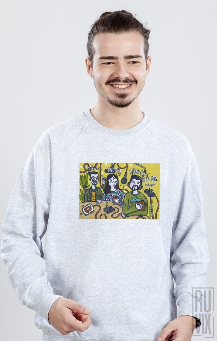 Sweatshirt S-a si râs