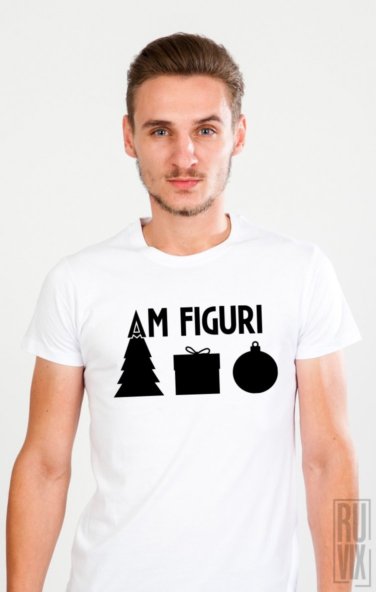 Tricou Am Figuri De Craciun