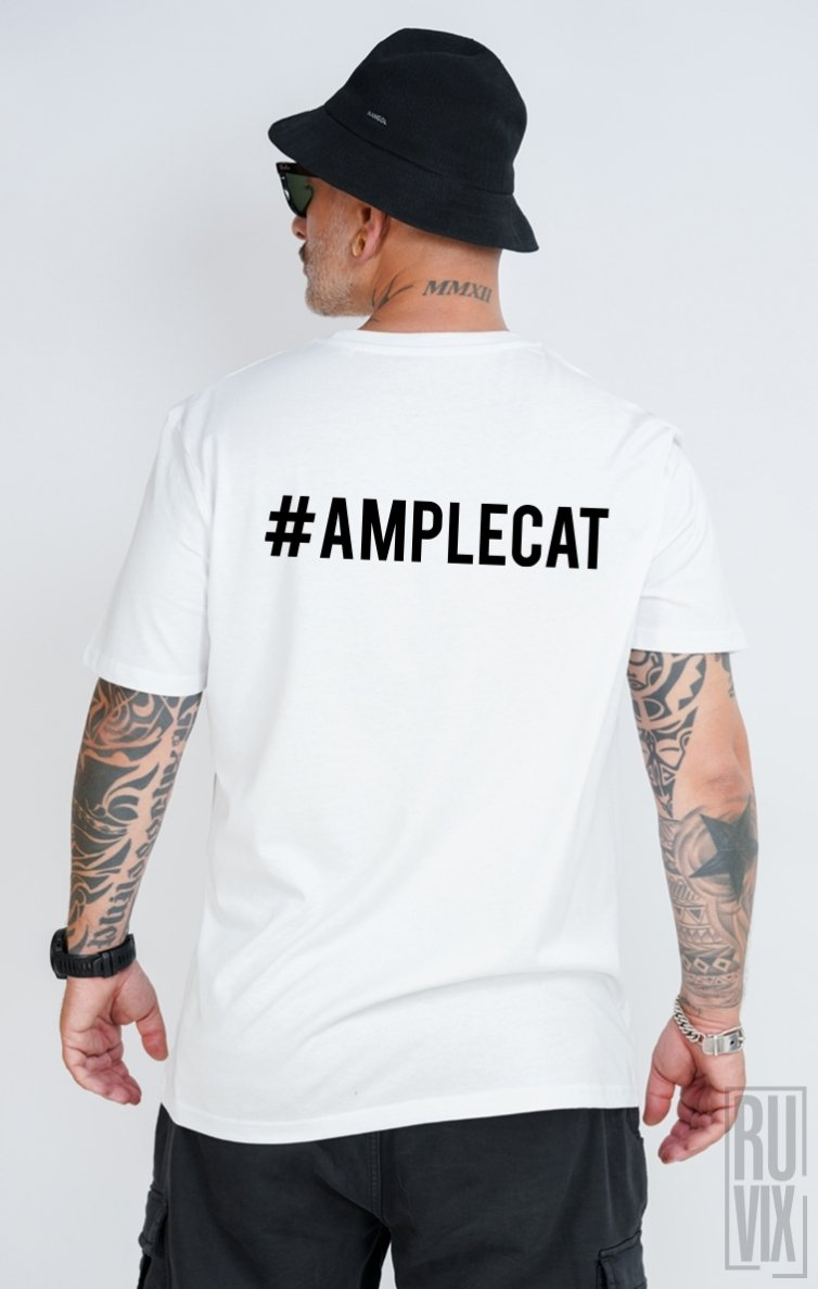 Tricou #AMPLECAT BACK