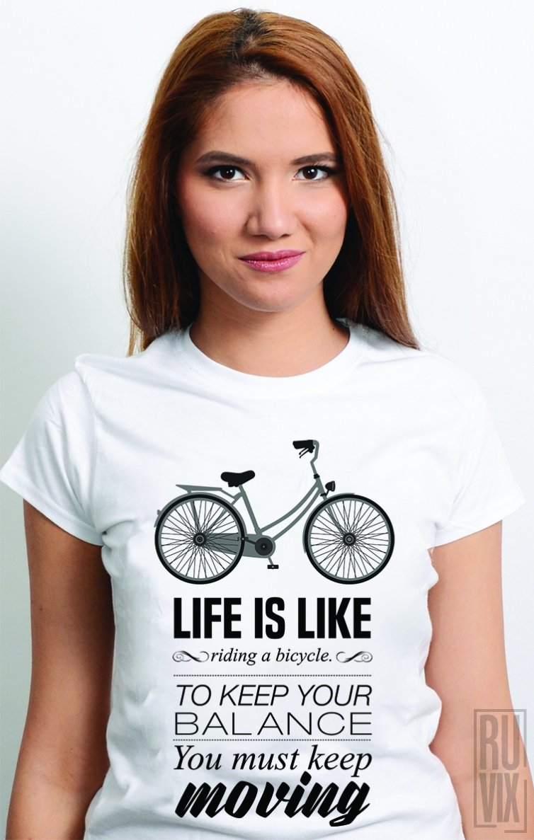Tricou Bicycle Life