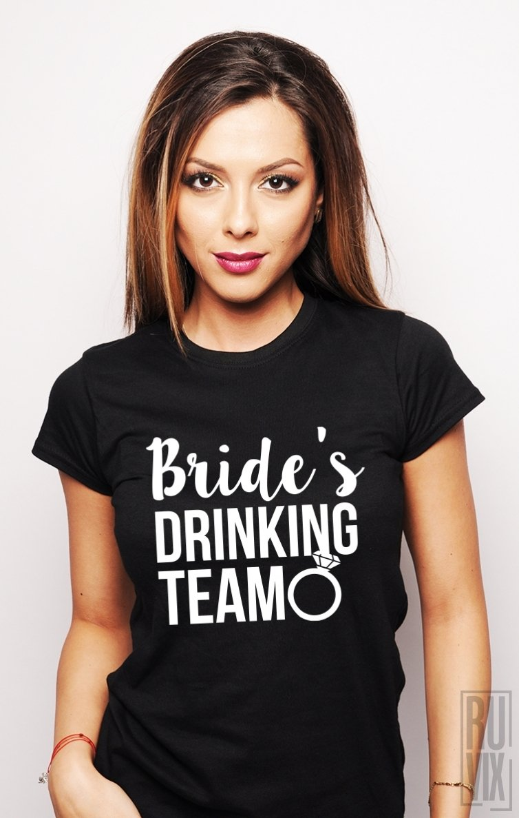 Tricou Bride's Drinking Team
