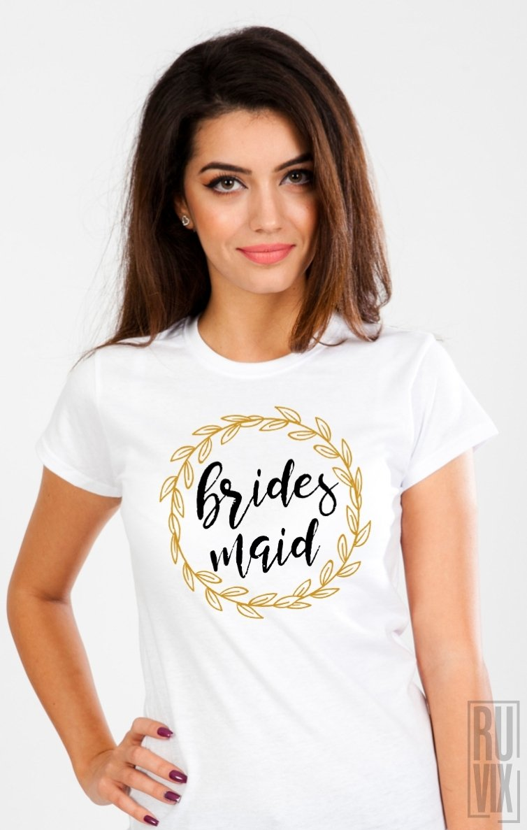 Tricou Bridesmaid (Coroniță)
