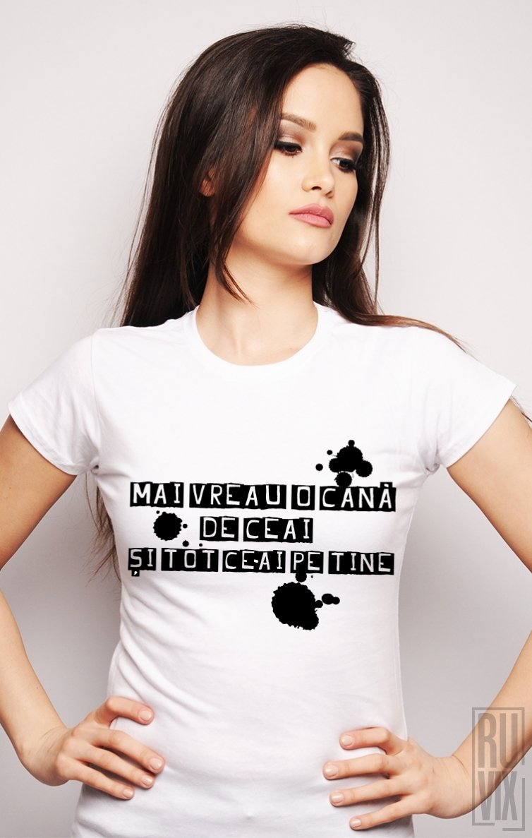 Tricou Cană de Ceai