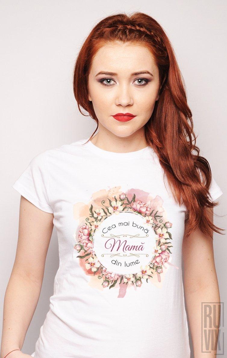 Tricou Cea Mai Bună Mamă