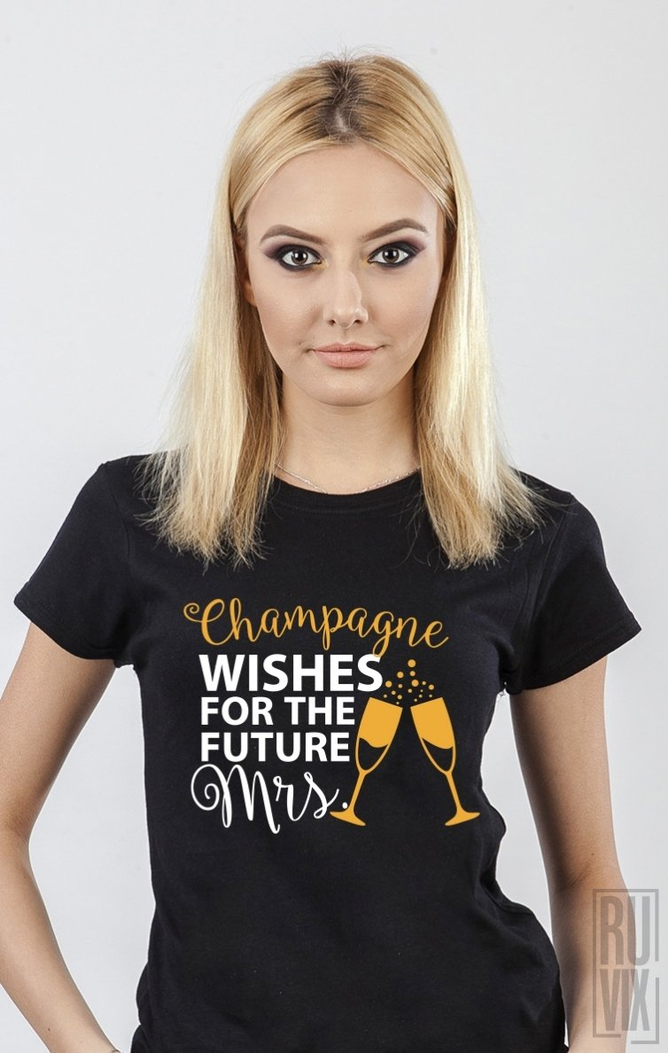 Tricou Champagne Wishes