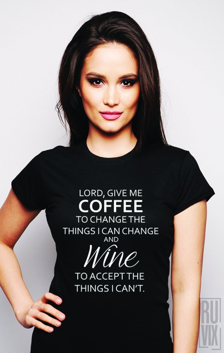 Tricou Coffee and Wine