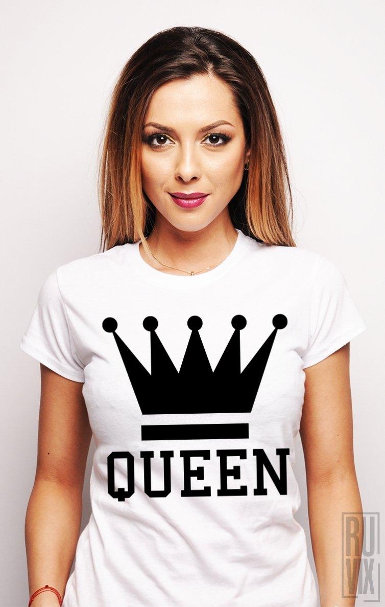 Tricou Crown QUEEN
