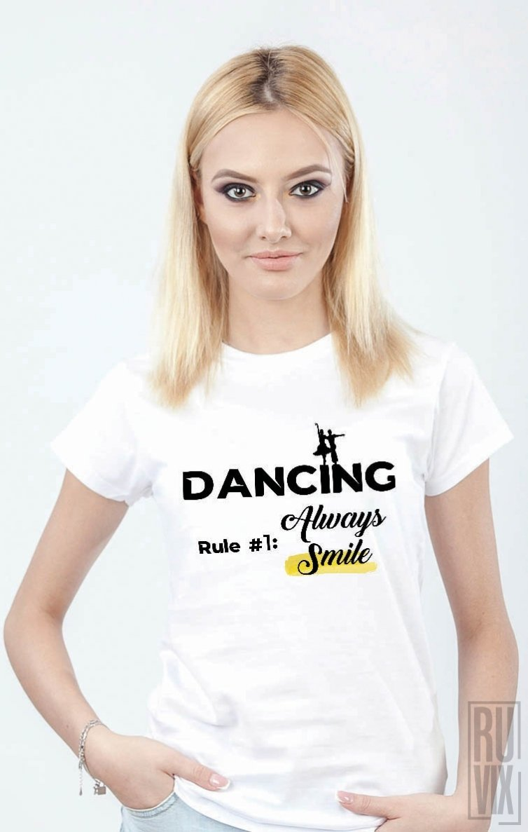 Tricou Dancing Rule
