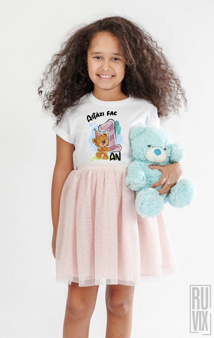 Tricou de Copii ASTĂZI  FAC 1 AN