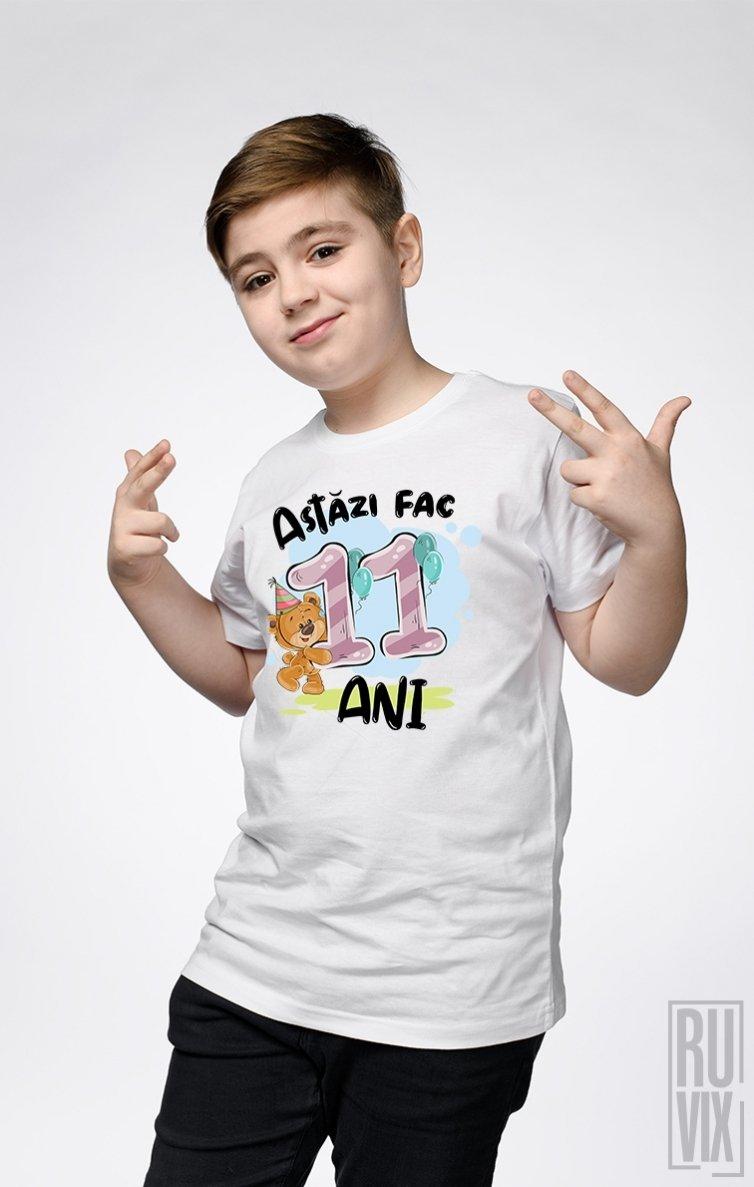 Tricou de Copii ASTĂZI FAC 11 ANI