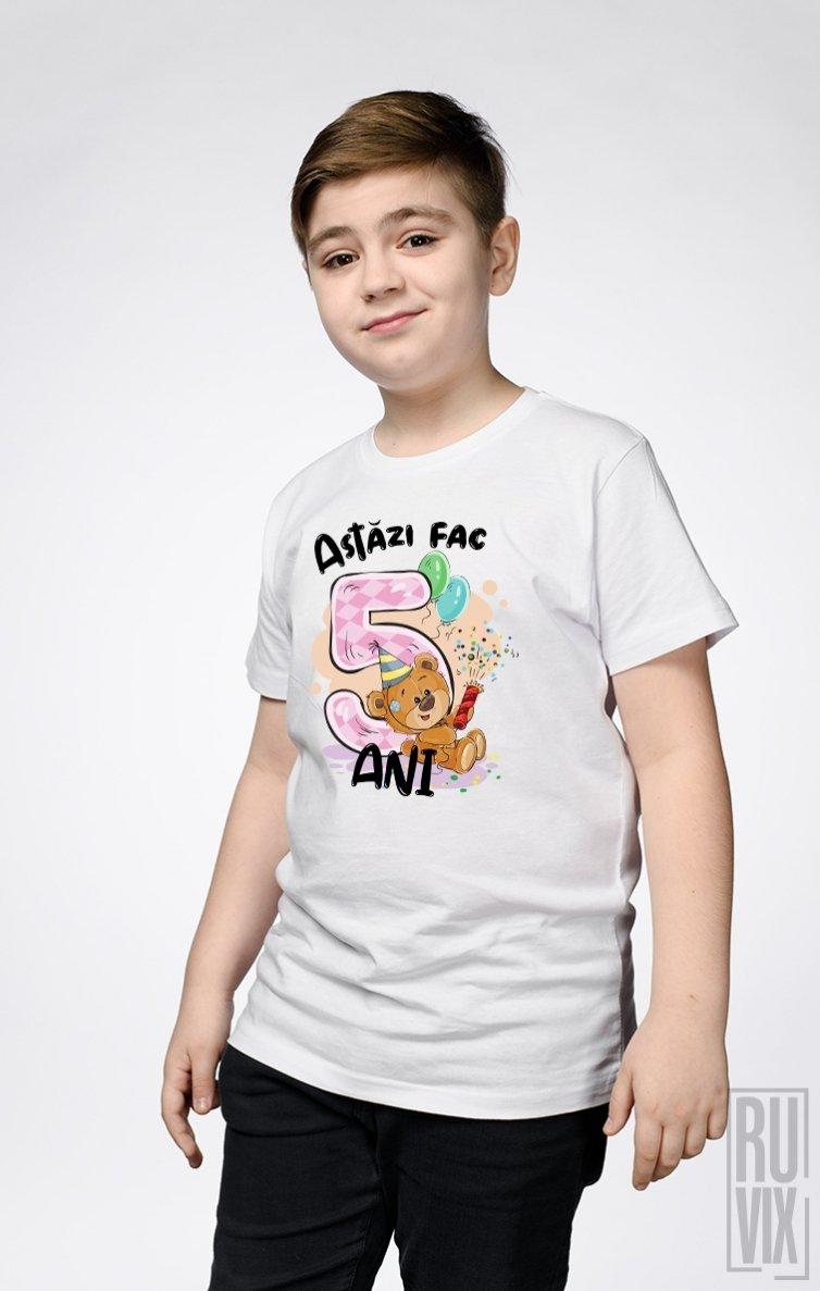 Tricou de Copii ASTĂZI FAC 5 ANI