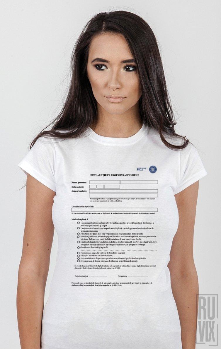 Tricou Declarație