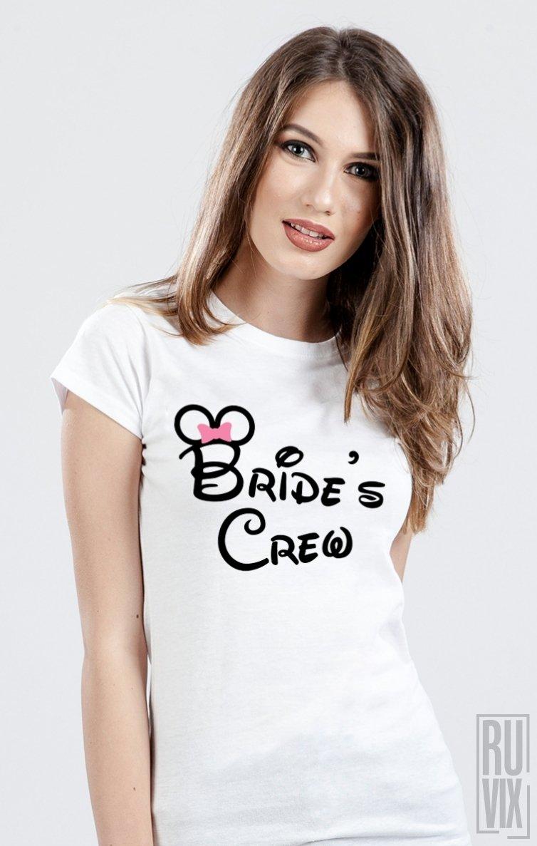 Tricou Disney Bride's Crew