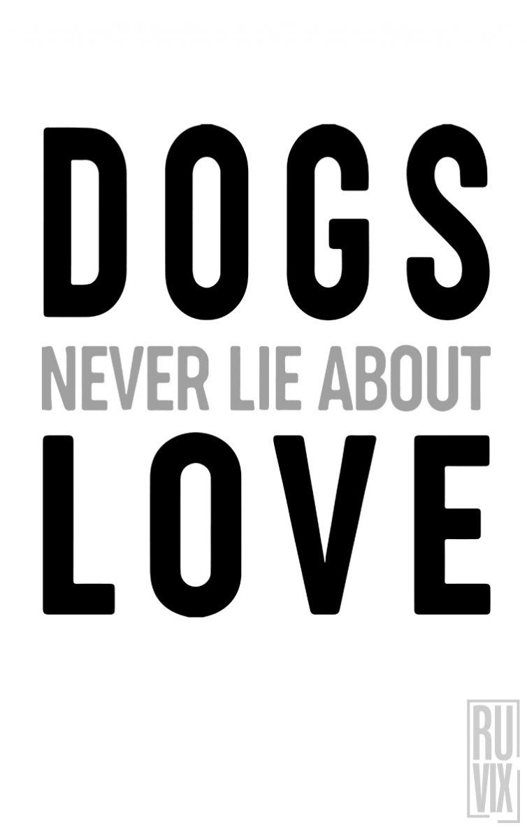 Tricou Dogs Never Lie