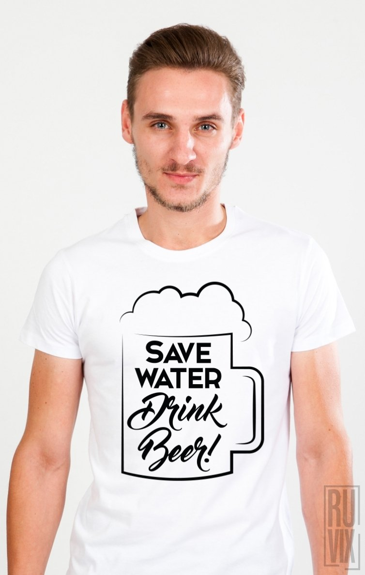 Tricou Drink Beer