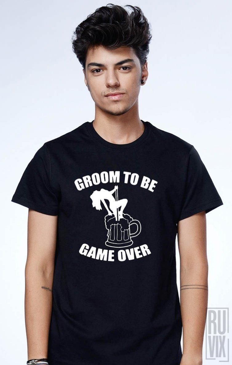 Tricou Groom To Be