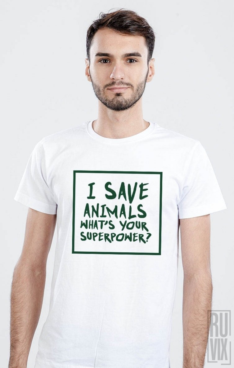 Tricou I Save Animals