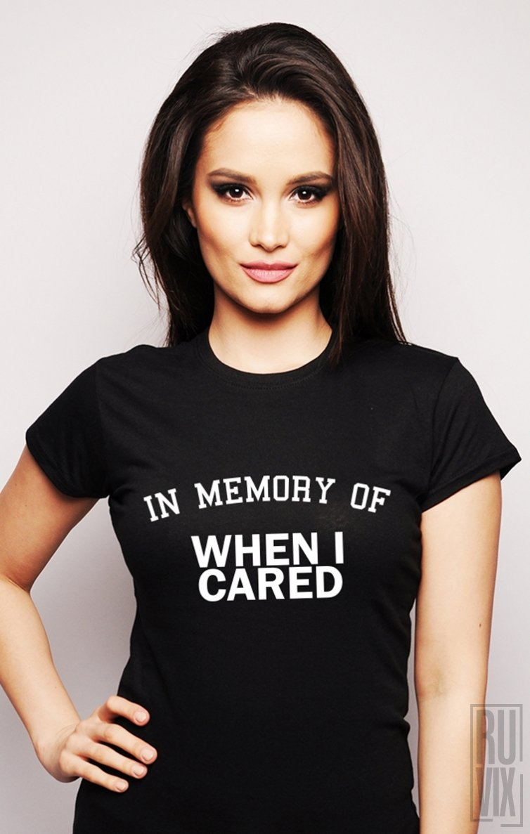 Tricou In Memory Of