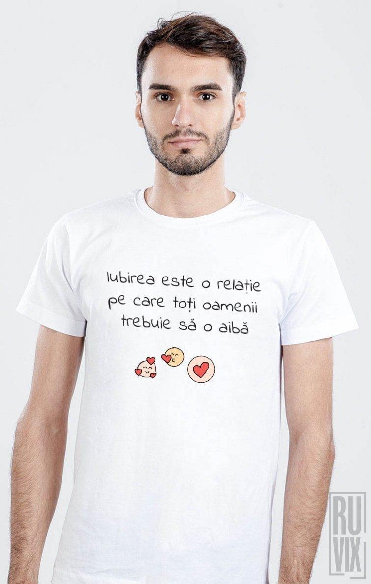 Tricou Iubirea este o Relație