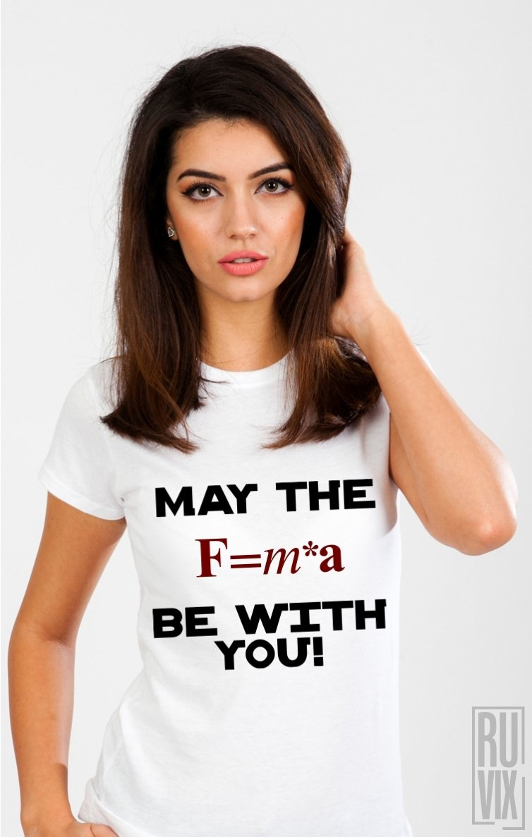 Tricou May The FORCE
